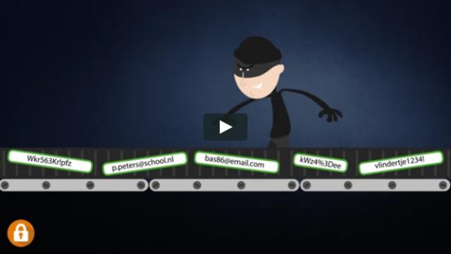 Security awareness video's | Wachtwoorden | BeveiligMij.nl