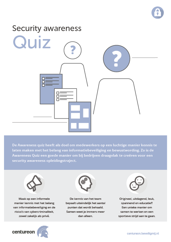 CENTUREON | Security awareness Quiz