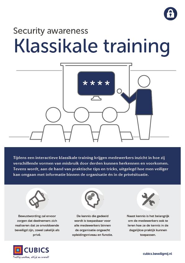 Cubics | Security awareness training