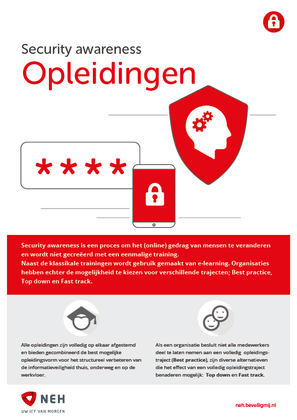 NEH ICT Solutions | Security awareness opleidingen