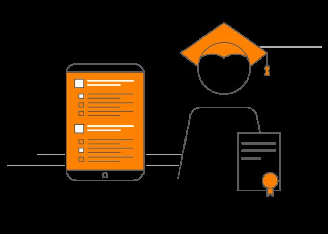 Webwinkel Online e-learning bestellen