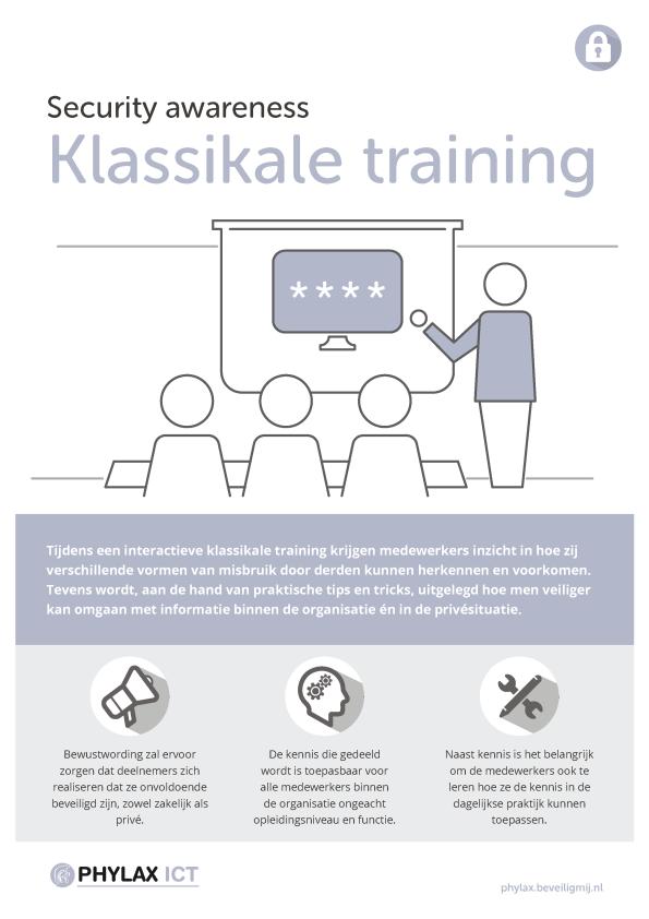 Phylax ICT Diensten | Security awareness training