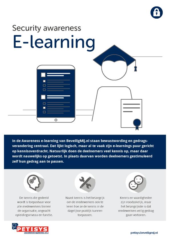 Petisys   Security awareness E-learning
