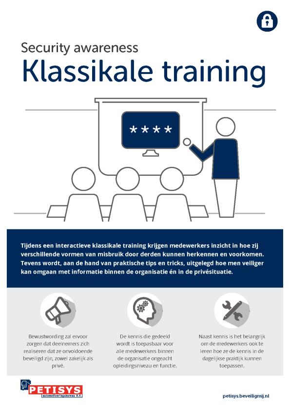 Petisys   Security awareness Training