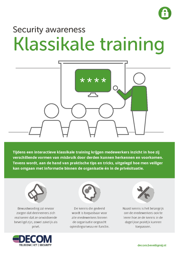 Decom | Security awareness Training