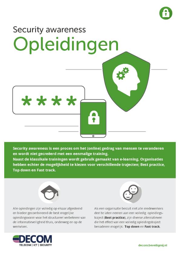 Petisys | Security awareness Opleidingen