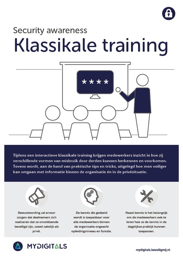 MyDigitals | Security awareness trainingen