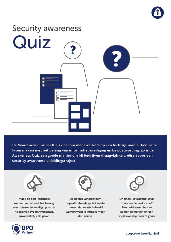 DPO Partner | Security awareness Quiz